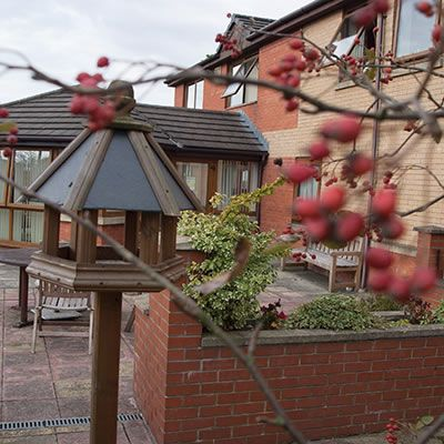 Beautiful Gardens at the Care Centres